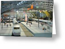 Railway Station Greeting Card by Gynt