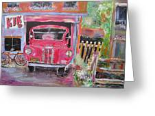 Relic In Lachine Greeting Card by Michael Litvack