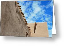 San Francisco De Asis Mission Church Greeting Card by Gia Marie Houck