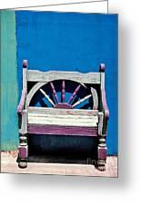 Santa Fe Chair Greeting Card by Elena Nosyreva