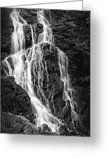 Smokey Waterfall Greeting Card by Jon Glaser
