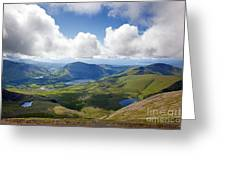 Snowdonia Greeting Card by Jane Rix