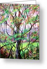 Spring For Fox Grapes Greeting Card by Bruce Schrader