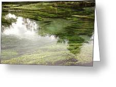 Spring water Greeting Card by Les Cunliffe