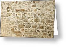 Stone Wall Greeting Card by Matthias Hauser