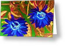 Sunflower Greeting Card by Vicky Tarcau