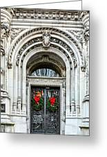 The Burrage House Greeting Card by JC Findley