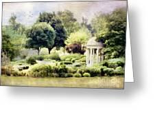 The Flower Garden Greeting Card by Darren Fisher
