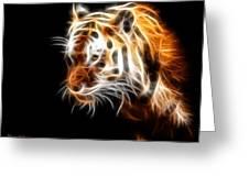 Tiger  Greeting Card by Mark Ashkenazi