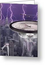 Time Travelers 2 Greeting Card by Mike McGlothlen