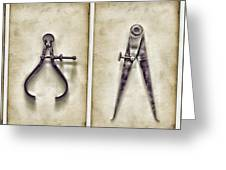 tools Greeting Card by HD Connelly