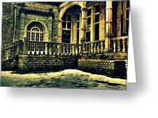 Viceregal Lodge Shimla Greeting Card by Salman Ravish