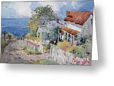 Westport by the Sea Greeting Card by Joyce Hicks