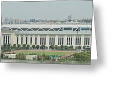 Yankee Stadium Greeting Card by Theodore Jones