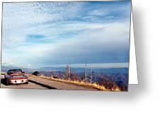 20 Degrees And Loving It At Cumberland Gap Greeting Card by WEB Shooter