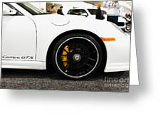 2012 Porsche 911 Carrera Gt 7d9630 Greeting Card by Wingsdomain Art and Photography