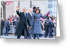 2013 Inaugural Parade Greeting Card by Ava Reaves