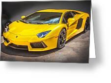 2013 Lamborghini Adventador Lp 700 4 Greeting Card by Rich Franco