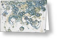 2013-santorini Greeting Card by Ted Domek
