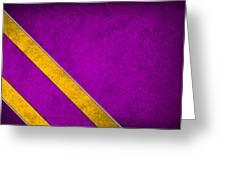 Minnesota Vikings Greeting Card by Joe Hamilton