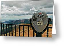 25 Cent Views Greeting Card by Charles Dobbs