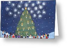 26 Angels In Memory Of Sandy Hook Victims Greeting Card by Tammy Rekito