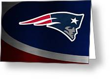 New England Patriots Greeting Card by Joe Hamilton
