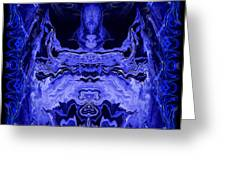 Abstract 72 Greeting Card by J D Owen
