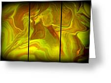 Abstract 99 Greeting Card by J D Owen