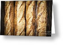 Baguettes Greeting Card by Elena Elisseeva