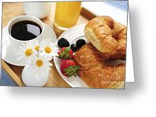 Breakfast  Greeting Card by Elena Elisseeva
