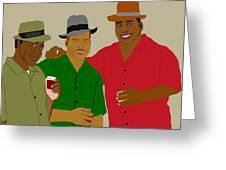 3 Buds Greeting Card by Pharris Art