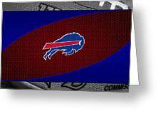 Buffalo Bills Greeting Card by Joe Hamilton