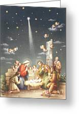 Christmas Card Greeting Card by French School