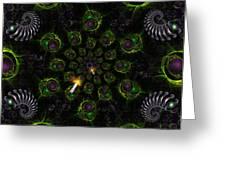 Cosmic Embryos Greeting Card by Shawn Dall