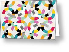 Geometric  Greeting Card by Mark Ashkenazi