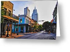 3 Georges Greeting Card by Michael Thomas