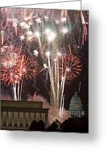 July 4th Fireworks Greeting Card by JP Tripp