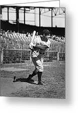 Lloyd J. Waner Greeting Card by Retro Images Archive
