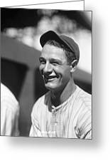 Lou Gehrig New York Greeting Card by Retro Images Archive