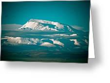 Mount Gurla Mandhata Greeting Card by Raimond Klavins