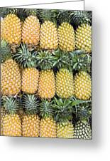 Organic Pineapple  Greeting Card by Kevin Miller