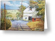 Peaceful In Pennsylvania Greeting Card by Joyce Hicks