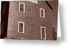 Starr's Mill GA Greeting Card by Jake Hartz