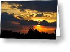 Sunset Greeting Card by Izwan Amrul