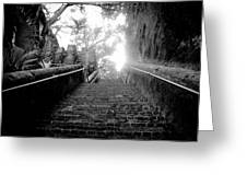 The Queen's Staircase Greeting Card by Damion Lawrence