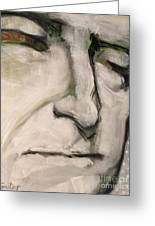 3.  Thomas Jefferson Greeting Card by Cindy Suter