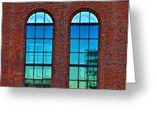 Windows Greeting Card by Kent Mathiesen