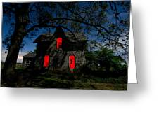 3am At The Farmhouse  Greeting Card by Cale Best