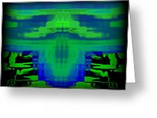 Abstract 101 Greeting Card by J D Owen